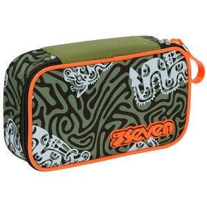 Astuccio accessoriato Quick Case Seven Totem Camou Green. Verde militare