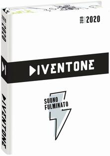 Diario Diventone 2019-2020, 16 mesi, giornaliero pocket Bianco