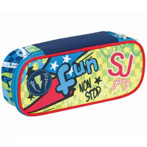 Astuccio busta ovale organizzata Round Plus Seven SJ Gang Boy Blu-Azzurro