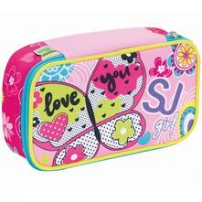 Astuccio accessoriato Quick Case Seven SJ Gang Girl Rosa