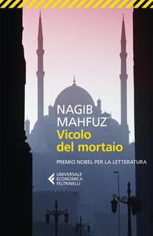 Vicolo del mortaio - Nagib Mahfuz - copertina