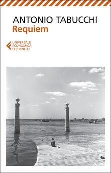 Requiem - Antonio Tabucchi - copertina