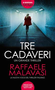 Tre cadaveri - Raffaele Malavasi - copertina