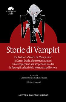Storie di vampiri. Ediz. integrale - copertina