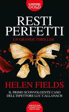 Resti perfetti - Helen Fields - copertina