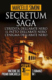 L'eredità dell'abate nero, Il patto dell'abate nero, L'enigma dell'abate nero - Marcello Simoni - copertina