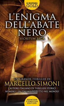 L' enigma dell'abate nero - Marcello Simoni - copertina