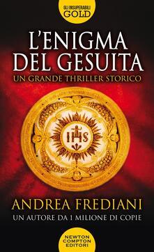 L' enigma del gesuita - Andrea Frediani - copertina