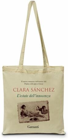 Shopper Clara Sánchez. L'estate dell'innocenza - copertina