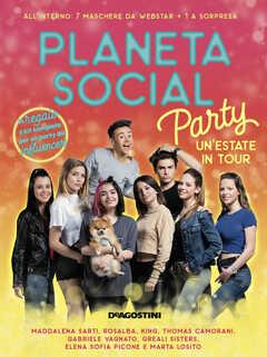 7850b60f6faf66 Libro Planeta social party. Un'estate in tour. Con gadget. Copia autografata