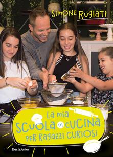 Voluntariadobaleares2014.es La mia scuola di cucina per ragazzi curiosi. Copia autografata Image