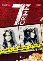 La truffa. 7 crimini. Copia personalizzata con un disegno fatto a mano da Marco Caselli