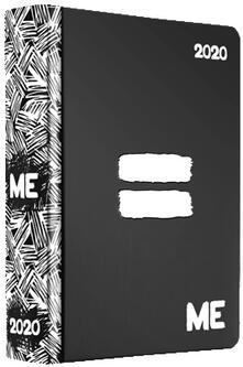 Diario ME My Evolution 2019-2020, 16 mesi, Uguale Nero