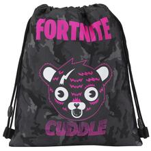 Zaino coulisse Fortnite Cuddle Team. Grigio