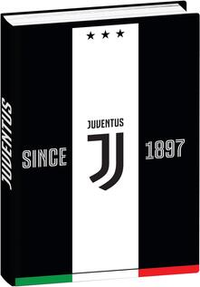 Diario Juventus 2019-2020, 12 mesi, pocket Since 1897 Bianco-Nero