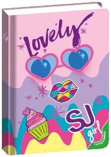Diario Seven SJ Gang Facce da SJ, 10 mesi, Lovely Viola-Rosa