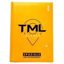 Diario TML 2019-2020 medium Giallo