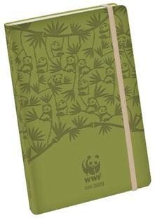 Agenda WWF 2020, 12 mesi, giornaliera large Verde Granny Smith - 13x21