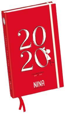 Agenda 2020 Nina giornaliera Rosso - 11x15