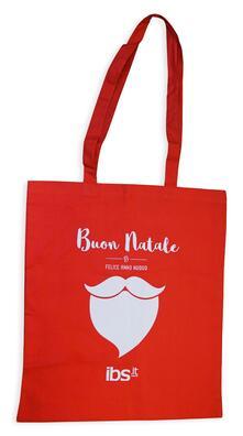 Shopper Natale IBS Rossa