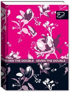 Cartoleria Diario The Double Spring DT 2021-2022, 16 Mesi Pocket Blue Deep - 11,5x15,9 cm Seven