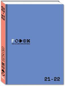 Cartoleria Diario Fedez 2021-2022, 16 mesi, azzurro Seven