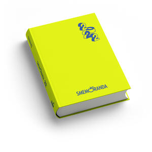 Cartoleria Diario Smemoranda 2021-2022, 16 mesi, Fluo  - 10 x 13,6 cm Smemoranda