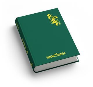 Cartoleria Diario Smemoranda 2021-2022, 16 mesi, Verde  - 10 x 13,6 cm Smemoranda