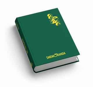 Cartoleria Diario Smemoranda 2021-2022, 16 mesi, Verde  - 11 x 15 cm Smemoranda
