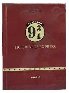 Cartoleria Diario Harry Potter Icons 2021-22, 16 mesi, datato, cartonato, Bordeaux - 13 x 17,7 cm Gut