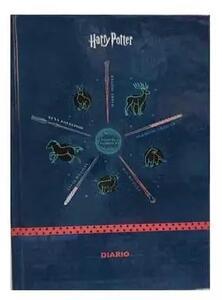 Cartoleria Diario Harry Potter Icons 2021-22, 16 mesi, datato, cartonato, Blu - 13 x 17,7 cm Gut