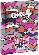 Superdiario Comix Flash 2021-2022, 13 mesi, datato, Rosa - 13,5 x 18,5 cm