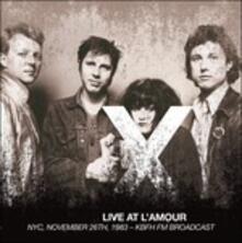 Live at L'amour, Nyc, November 26th 1983 - Vinile LP di X