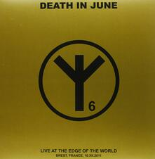 Live at the Edge of the World (Import) - Vinile LP di Death in June