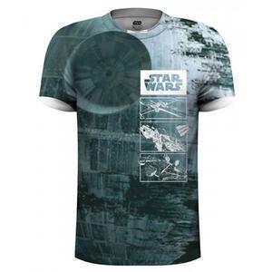 T-Shirt Unisex Tg. 2XL Star Wars. Ship Sublimation Print