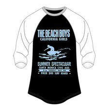The Beach Boys Ladies Raglan Tee: Spectacular (16)