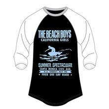 The Beach Boys Ladies Raglan Tee: Spectacular (18)