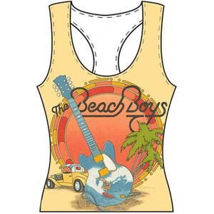 Canotta Donna Tg. S Beach Boys. Vest All-Over