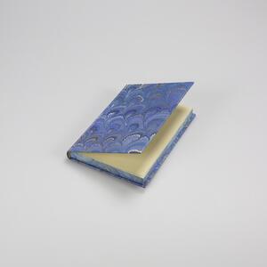 Libro con taglio pagine e copertina marmorizzati a mano - 10x15