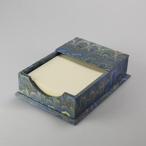 Portanotes in carta decorata a mano - 10x15x3