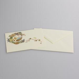 Biglietto nascita bambina - 8,5x13,6