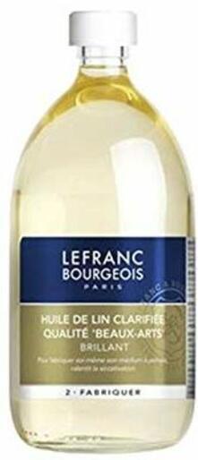 Olio di lino chiarificato Lefranc & Bourgeois flacone 1l