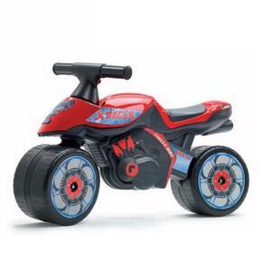 Moto cavalcabile X Racer rossa - 3