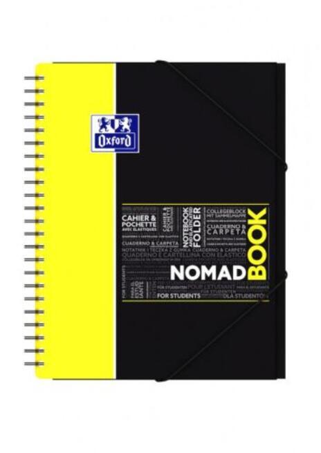 Oxford 400019522 quaderno per scrivere Porpora, Rosa, Giallo, Blu A4 - 2