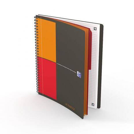 Oxford 400080786 quaderno per scrivere Grigio B5