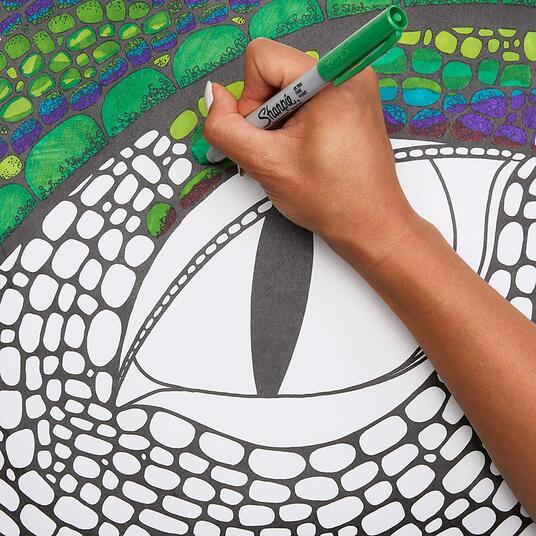 Pennarello indelebile Sharpie Ultrafine Colori Assortiti - Blister da 12 - 5