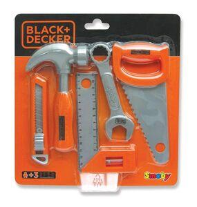 Giocattolo Black+Decker. 5 Attrezzi Lavoro Smoby