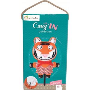 Giocattolo Little Couz'in, Simon le tigre Avenue Mandarine 1