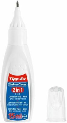 Correttore liquido Tipp-Ex Shake'n Choose 2 in 1 15 ml