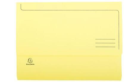 Exacompta 47970E cartella A4 Cartoncino Blu, Verde, Arancione, Rosa, Giallo - 2